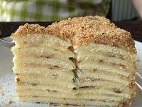 торт на сковороде с заварным кремом рецепт