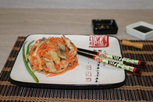 Селедка по-корейски быстрого приготовления