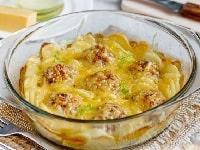 Тефтели с картошкой в духовке рецепт