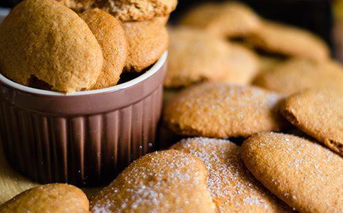 как испечь печенье на рассоле