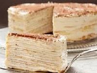 как приготовить блинный торт со сметанным кремом