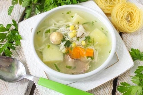 куриный суп с вермишелью и картошкой рецепты