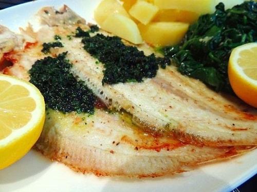 морской язык на сковороде рецепты