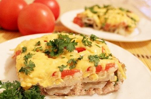 мясо под шубой в духовке рецепт