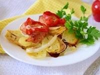 как приготовить пангасиус с картошкой в духовке
