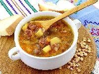 как сварить гороховый суп с копченостями в мультиварке