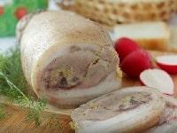 рулет из рульки свиной вареный рецепт