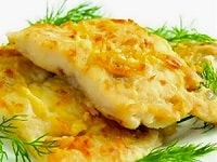 тилапия с сыром в духовке