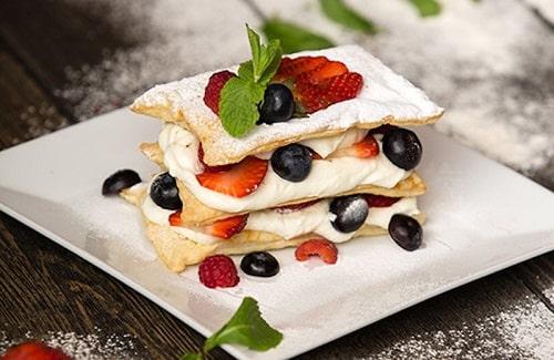 торт мильфей рецепт