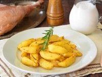 как приготовить картошку в рукаве в духовке
