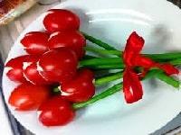как приготовить салат тюльпаны