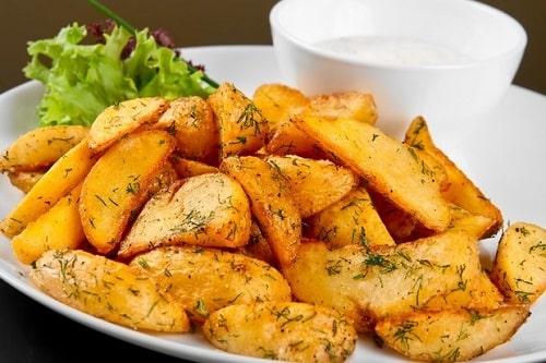 картошка в рукаве в духовке рецепт