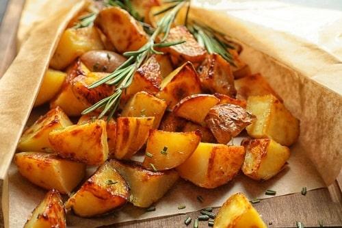 картошка запеченная в рукаве