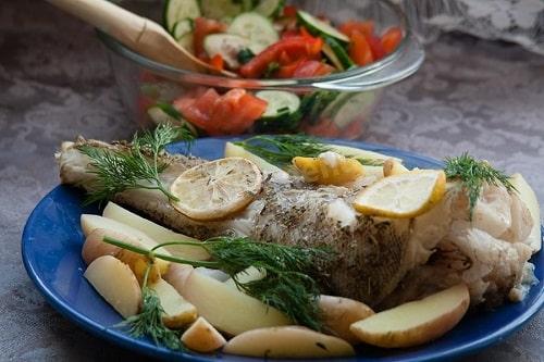макрурус в духовке рецепт с картошкой
