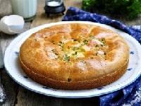 Заливной пирог с мясом в духовке – рецепт на сметане