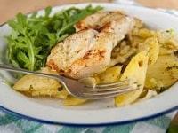 как приготовить минтай с картошкой в духовке