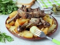 картошка с ребрышками в рукаве рецепт