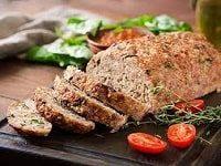 мясной хлеб из фарша рецепт