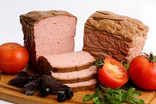 мясной хлеб по баварски