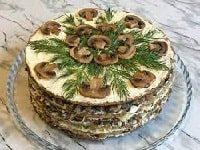 печёночный торт из говяжьей печени рецепты