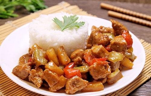 свинина по-китайски рецепт
