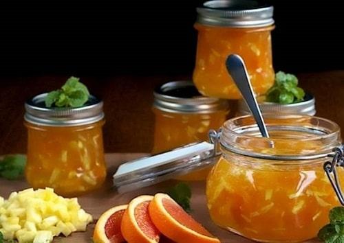 варенье из ревеня рецепт с апельсином