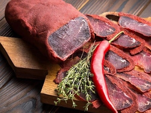бастурма из говядины в домашних условиях рецепты
