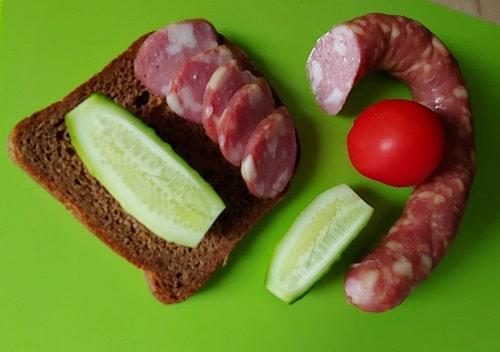 домашняя краковская колбаса