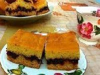 как испечь пирог на кефире с вареньем