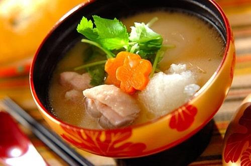 клецки для супа на молоке