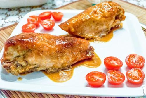 рецепт курица в горчичном соусе