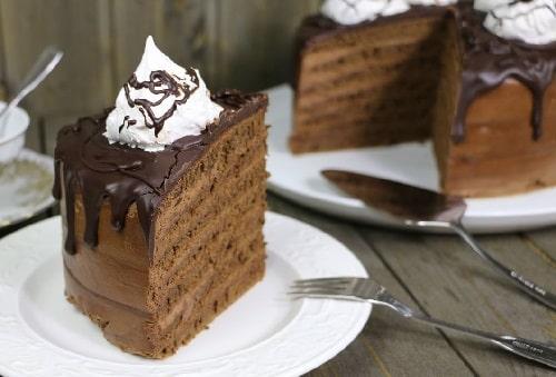 шоколадный торт на сковороде рецепт