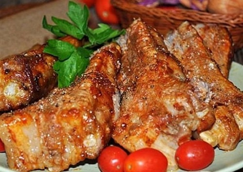 свиные рёбрышки на мангале рецепты