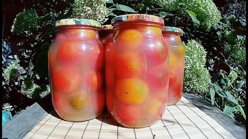 Помидоры в яблочном соке рецепты