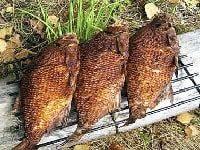 как приготовить леща на мангале