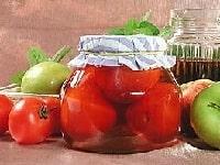 как заготовить помидоры в яблочном соке