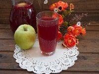 компот из вишни и яблок на зиму рецепт