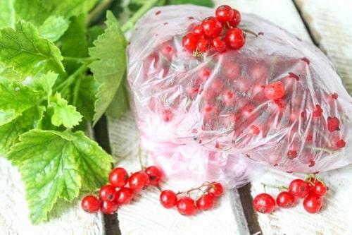 красная смородина замороженная с сахаром