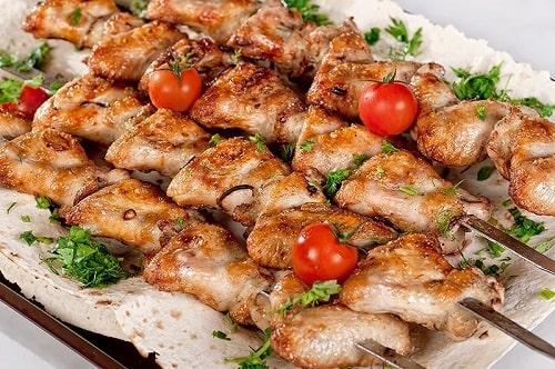 крылышки на мангале рецепт