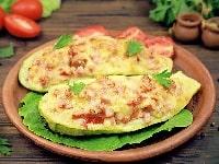 лодочки из кабачков с сыром рецепт в духовке