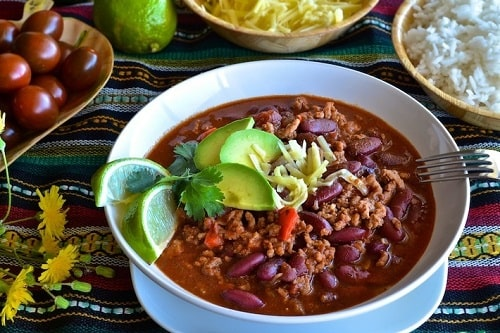 мексиканский чили кон карна рецепт