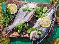 рыба на решетке мангала рецепты