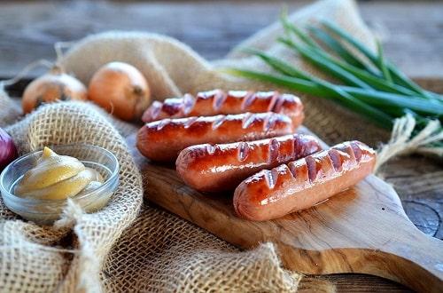 сосиски на мангале рецепты
