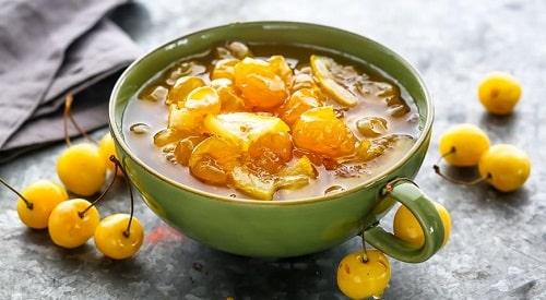 варенье из черешни с лимоном на зиму