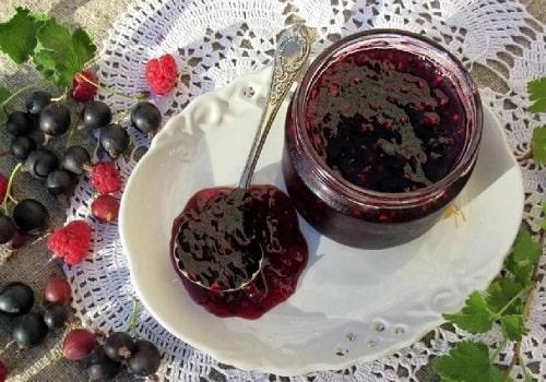 варенье из малины и черной смородины на зиму