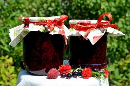 варенье из малины и черной смородины рецепты