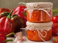 как заготовить аджику из болгарского перца на зиму