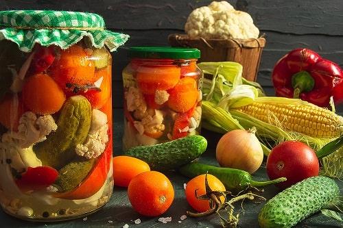 как заготовить салат огород