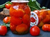 маринованные помидоры с корицей на зиму