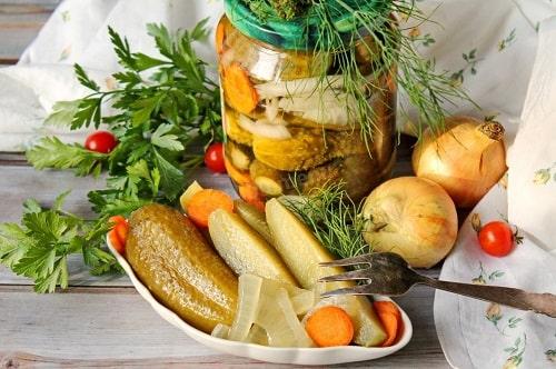 огурцы по-венгерски на зиму рецепты